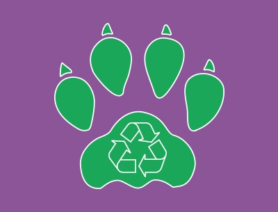 Earth Day 2017 Paw Print.