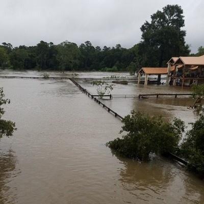 Hurricane Harvey Flooding in Houston.